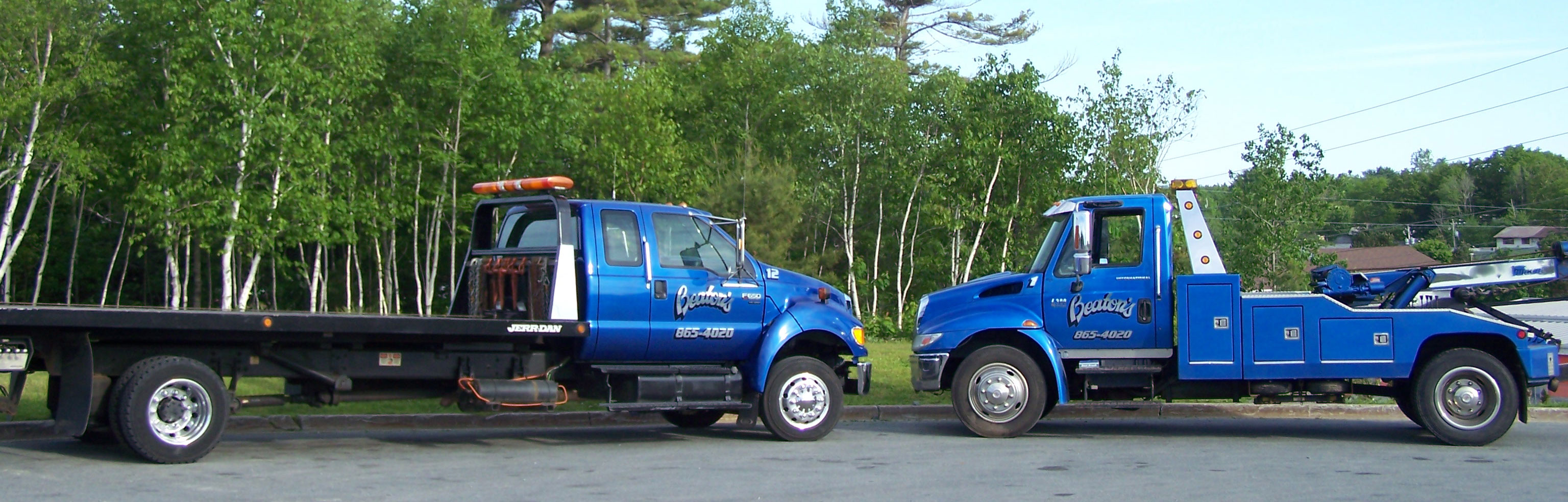 Towing trucks